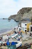 Trevaunance zatoczka w St Agnes Zdjęcie Royalty Free