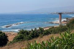 trevel jacht kekova morze śródziemnomorskie Cypr Paphos Obrazy Royalty Free