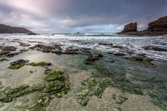Trevellas porth, Cornwall, england uk stock images
