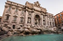 Trevi喷泉罗马,意大利 免版税图库摄影