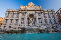 Trevi喷泉罗马,意大利 免版税库存图片