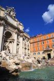 Trevi喷泉,罗马意大利 免版税库存图片