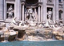 Trevi喷泉,罗马 库存照片