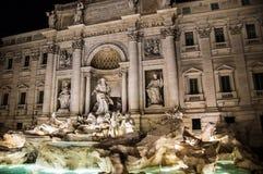 Trevi的喷泉罗马 免版税库存照片