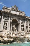 TREVI της Ιταλίας Ρώμη πηγών στοκ φωτογραφίες με δικαίωμα ελεύθερης χρήσης