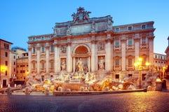 TREVI της Ιταλίας Ρώμη πηγών στοκ φωτογραφία