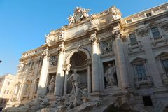 TREVI της Ρώμης πηγών Στοκ Εικόνα