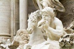 trevi Италии rome фонтана Стоковые Фото