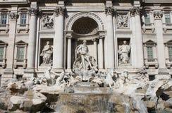trevi ландшафта фонтана стоковое изображение rf