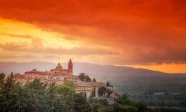 Trevi, Умбрия, Италия Стоковое Фото