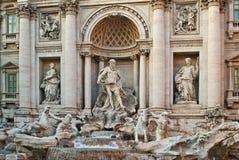 trevi фонтана Стоковое Изображение RF