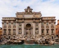 喷泉罗马trevi 免版税库存图片