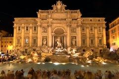 Trevi喷泉,罗马,意大利 免版税图库摄影