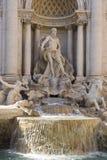 Trevi-Brunnen Lizenzfreie Stockfotos