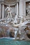 Trevi-Brunnen Stockbild