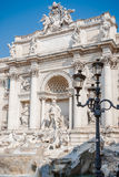 Trevi-Brunnen, die berühmtesten Brunnen in der Welt, Rom Stockfotos