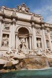 Trevi-Brunnen in Rom stockbilder