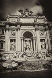 Trevi-Brunnen, Rom Stockfotografie