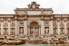 Trevi-Brunnen Rom Stockbild
