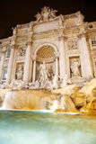 Trevi-Brunnen - Rom Stockbild