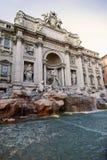 Trevi-Brunnen Rom Lizenzfreie Stockfotos