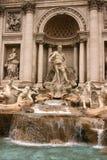 Trevi-Brunnen in Rom Lizenzfreie Stockfotografie