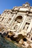 Trevi-Brunnen in Rom Lizenzfreies Stockfoto
