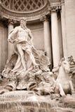 Trevi-Brunnen, Rom Lizenzfreie Stockfotografie