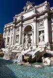 Trevi-Brunnen in Rom, Italien Lizenzfreies Stockbild