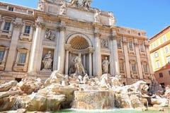 Trevi-Brunnen, Rom, Italien Lizenzfreie Stockfotografie