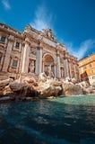 Trevi-Brunnen, Rom - Italien Stockbilder