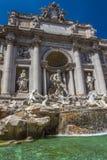 Trevi-Brunnen, Rom - Italien Stockbild