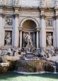 Trevi-Brunnen Rom Italien Lizenzfreie Stockfotografie