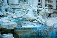 Trevi-Brunnen, Rom, Italien Lizenzfreie Stockbilder