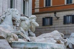 Trevi-Brunnen, Rom, Italien Stockbild