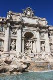 Trevi-Brunnen von Rom Stockbilder