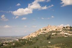 Trevi cityscape, Umbria Stock Photography