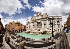 TREVI de fontaine DESTINATION CÉLÈBRE DE ROME photographie stock