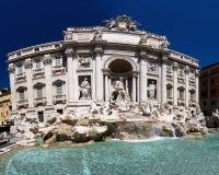 TREVI de fontana Rome de Di Photo libre de droits