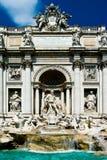 TREVI de Rome de fontaine de ville Image libre de droits
