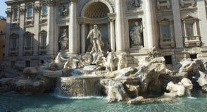 TREVI Di fountain Ρώμη στοκ εικόνα με δικαίωμα ελεύθερης χρήσης