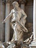 trevi för springbrunnitaly rome staty Fotografering för Bildbyråer