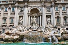 trevi fontana di передний осматривает Стоковые Фотографии RF