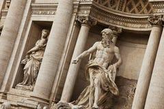 trevi fontana di стоковые фотографии rf