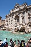 trevi fontana di Стоковое Изображение RF