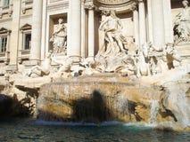 trevi fontana rome di Стоковая Фотография RF