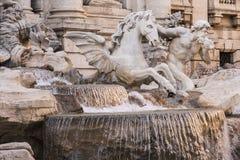 Trevi fontanna Zdjęcia Stock