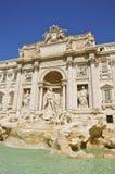 Trevi fontanna Poli i Palazzo, Rzym Obrazy Stock