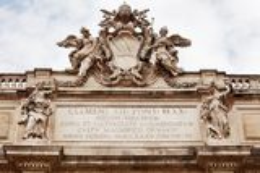 Trevi fontanna Rzym Zdjęcie Stock