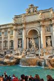 Trevi fontanna, Rzym Włochy Obrazy Royalty Free